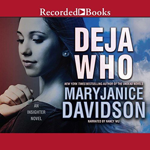 Deja Who audiobook cover art