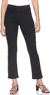 DeFacto Elastic Waist Straight Pants for Women