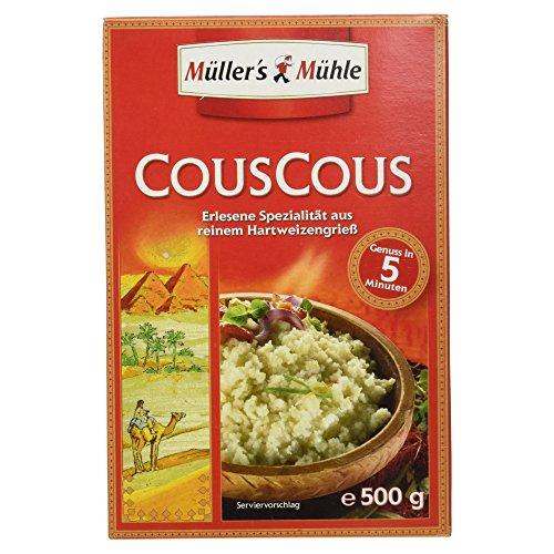 Müller´s Mühle Couscous mittelgroß, 500 g