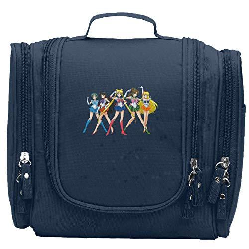 Sailor Manga Moon Portable Toiletry Bags Makeup Bag Cosmetic Case Storage Bags