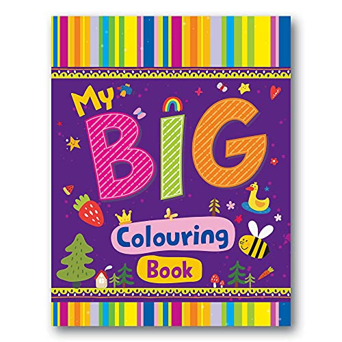 My Big Colouring Book (128 Pages)   Colouring Book for Kids   Jumbo Sized