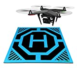 XL Drone and Quadcopter Landing Pad 22-inch by 22-inch: Highly Visible...