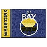 FANMATS 17911 NBA Golden State Warriors Uniform Inspired Starter Rug,Team Color