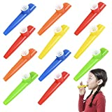 """ArtCreativity 4.5"""" plastic Kazoo (Set of 12) 