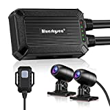 Blueskysea バイク用ドライブレコーダー SONY IMX323センサー WIFI機能 GPSモジュール(別売) 135°超広角 IP67防水カメラ フルHD1080P 日本全国LED信号機対応 日本語説明書 B1M (32GBカード付き)