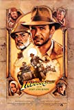 Christ-EZ Indiana Jones and the Last Crusade Wall Movie Poster - Matte poster Frameless Gift 11 x 17 inch(28cm x 43cm)
