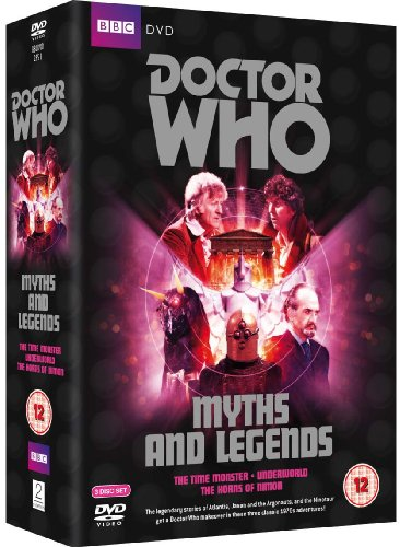 Doctor Who - Myths and Legends Box Set: The Time Monster / Underworld / The Horns of Nimon [Reino Unido] [DVD]