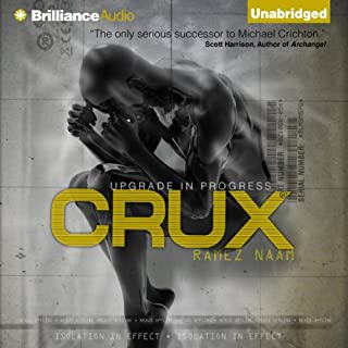 Crux     Nexus, Book 2              By:                                                                                                                                 Ramez Naam                               Narrated by:                                                                                                                                 Mikael Naramore                      Length: 18 hrs     1,064 ratings     Overall 4.3