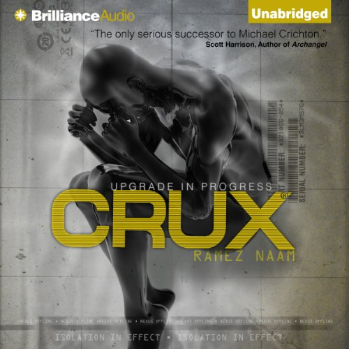 Crux audiobook cover art