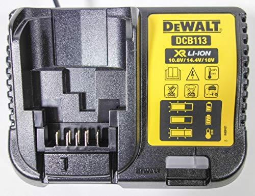 DeWalt Chargeur DCB113 XR Universel 10,8 V 14,4 V 18 V