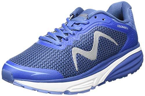 MBT Dames Colorado X W 9.5 Low-Top Sneakers, Blauw (Nederlands Blauw 1340y), 7.5 UK