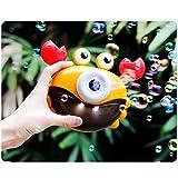 Baño de cangrejo de juguete de burbujas fabricante de baño para la bañera sopla burbujas canciones máquina de burbujas niños pequeños juguetes de baño forma de cámara