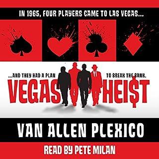 Vegas Heist audiobook cover art