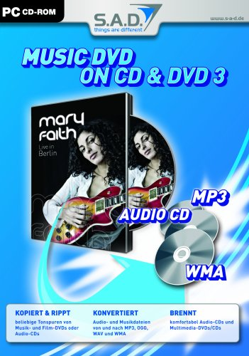 Music DVD on CD and DVD 3
