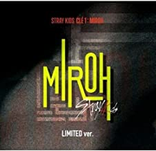 Stray Kids - [Cle 1:Miroh] Limited Album CD+PhotoBook+3p QR PhotoCard+1p Clear PostCard+1p PhotoCard+Tracking K-POP Sealed