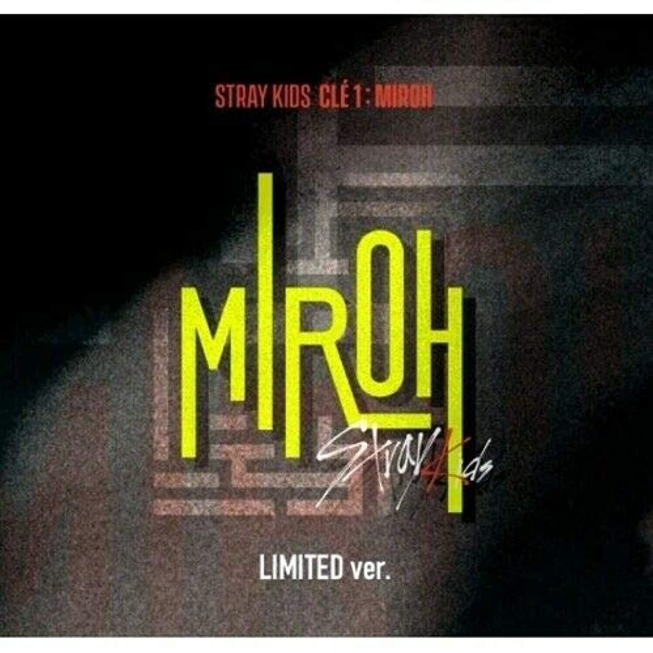 Stray Kids - [Cle 1:Miroh] Limited Album CD+1p Poster+PhotoBook+3p QR PhotoCard+1p Clear Postcard+1p PhotoCard+Extra PhotoCard Set+Tracking K-POP Sealed
