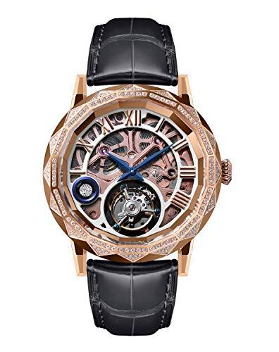 Memorigin Tourbillon Chandelier Series Reloj Unisex Oro