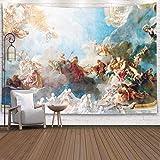 KHKJ Cuadro de Techo en Sala Hércules del Palacio Real de Versalles para Dormitorio Tapices de Colores A1 200X180 cm