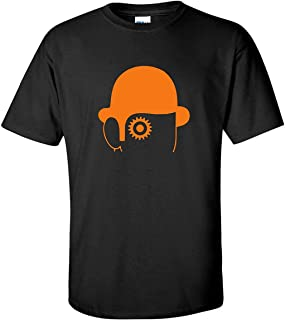 Clockwork Orange Hat Cult 70s Movie Black T-Shirt