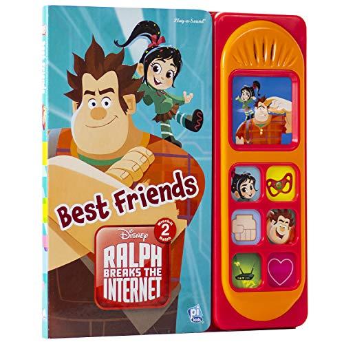 Disney - Wreck-It Ralph 2: Ralph Breaks the Internet - Best Friends Sound Book - PI Kids (Play-A-Song)