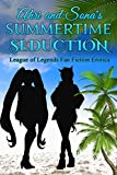 Ahri and Sona's Summertime Seduction: The League of Legends Fan Fiction Erotica (English Edition)