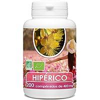 Hipérico (Hierba de San Juan) Organico 400 mg - 200 comprimidos