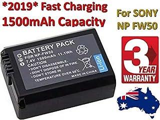 Timetech OEM 1500mAh NP-FW50 Battery for Sony A6300 A6000 A5000 A7R, NEX-7 NEX-5T AU