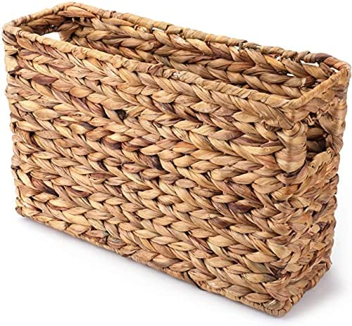 Magazine Water Superlatite Hyacinth Basket - 15-1 Ranking TOP20 4 Inch 9-7 8 X N 4-7
