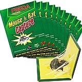U-TOTE Trampa para Ratones Trampas para Ratas, Platos Adhesivos para Ratones, Pegamento Profesional...