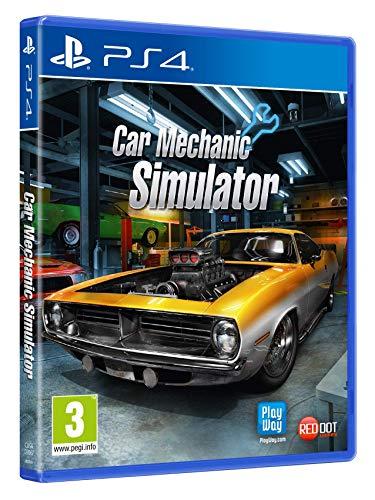 日本語対応版 Car Mechanic Simulator カー メカニック シュミレーター PS4 輸入版