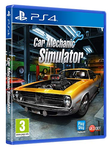 Car Mechanic Simulator - PlayStation 4 [Edizione: Regno Unito]
