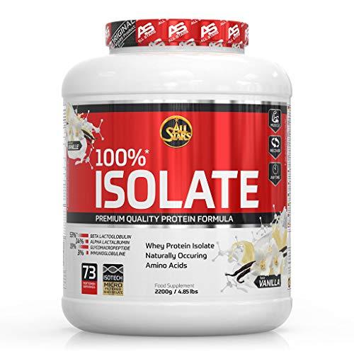 All Stars 100% Whey Isolate, Vanille, 1er Pack (1 x 2200 g)