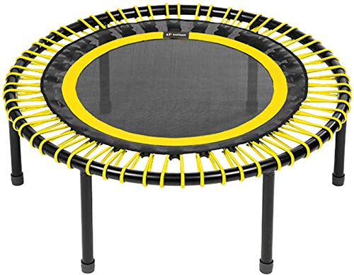 bellicon Classic Rebounder, Folding Legs, Yellow, ø 100 cm, Strong bungees (90-120kg), including Starter pack, Made in Germany, and Design