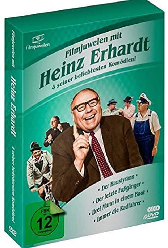 Heinz Erhardt Box - 4 DVD - seine beliebtesten Komödien