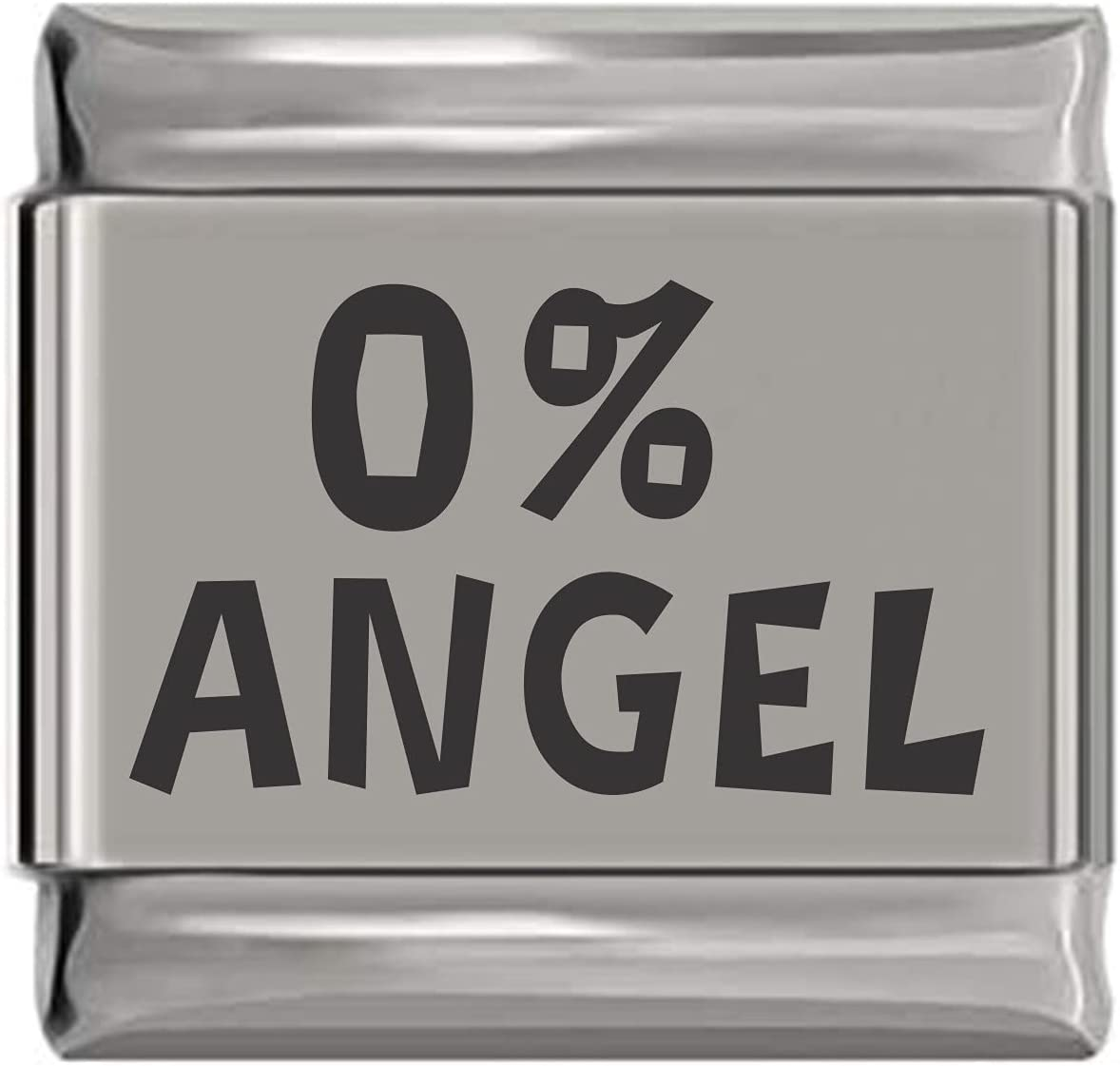 Zero Percent Angel Charlotte Mall Laser Don't miss the campaign Italian Engraved Charm
