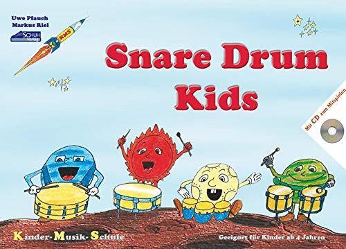 Snare Drum Kids (mit Begleit-CD): Eine pfiffige Drumming-Schule für Kinder im Vorschulalter.