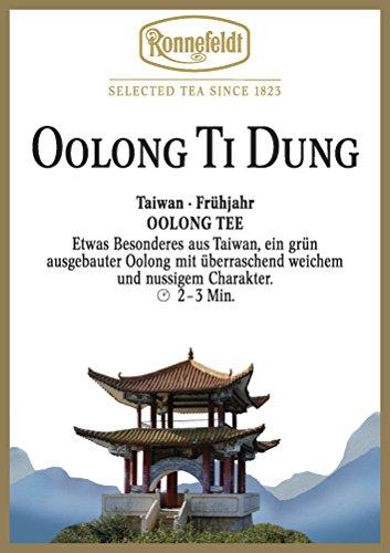 Ronnefeldt - Oolong Ti Dung - Grüner Tee, Herstellung Formosa-Art - 100g