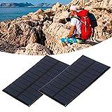 Panel solar solar, 1.6W Polisilicon 15 x 8,5 cm 0.29 (a) Para...