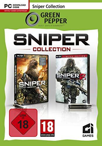 Sniper Collection - Ghost Warrior 1 und 2 - Green Pepper