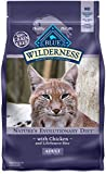 Blue Buffalo Wilderness High Protein Grain Free, Natural Adult Dry Cat Food, Chicken 6-lb