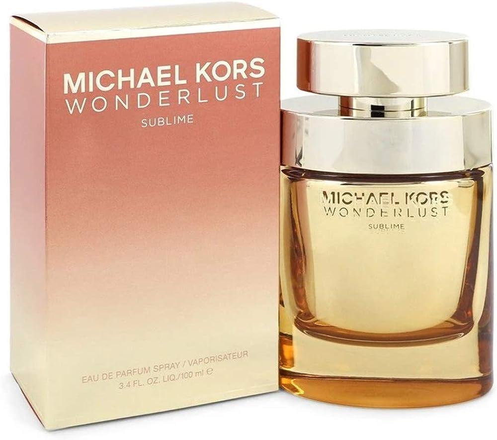 Michael kors wonderlust,eau de parfum per donna,100 ml 0022548412824