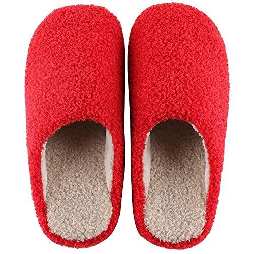 ZapatillascasaZapatillas De Interior De Invierno, Zapatos De Dormitorio para El Hogar, Zapatillas Antideslizantes Peludas para Mujer, Zapatillas Cálidas para Casa, ZAPA