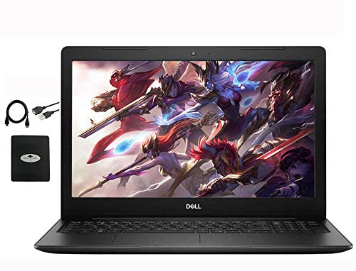 """2020 Dell Inspiron 15 15.6"""" Touchscreen Laptop for Business Student, 10th Gen Intel i3-1005G1(Up to 3.4GHz,Beat i5-8250U), 16GB RAM, 1TB HDD + 128GB PCIe SSD, Win10 w/ Ghost Manta Accessories"""