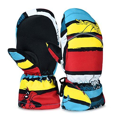 VBIGER Kids Ski Gloves Ski Mittens