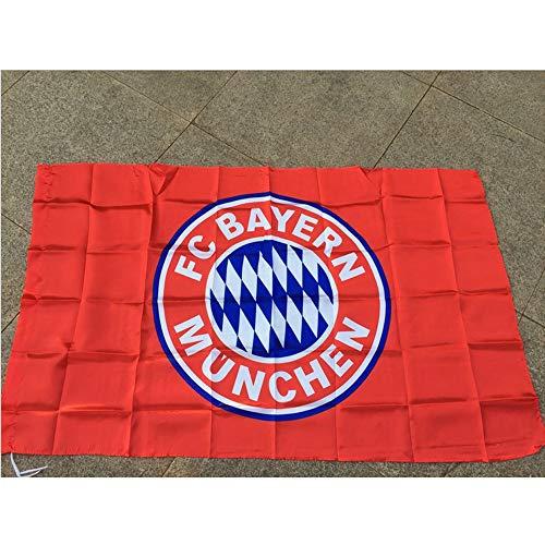 RBTT para el Bayern Munich Banderas del Equipo de fútbol Ventiladores fútbol...