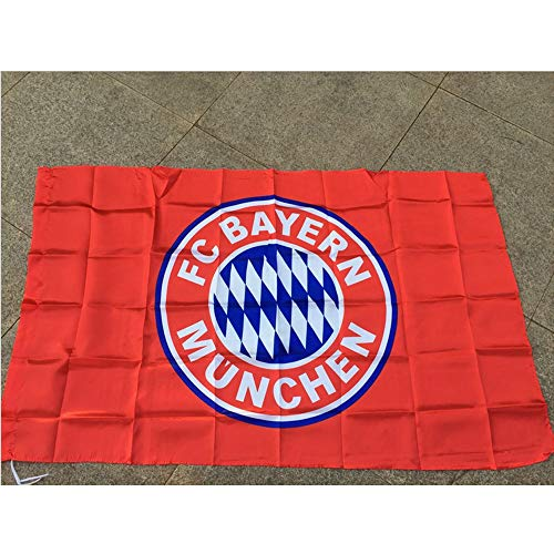 LGFB per Il Bayern Monaco Team ventilatori Bandiera Calcio bandierine Calcio Campionato Scialle Bandiera del Club Puntelli Bandiera Campionato Concorrenza Cheer,10 PCS