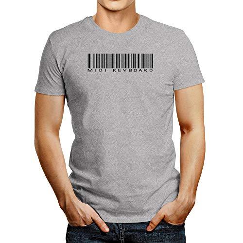 Idakoos MIDI Keyboard Barcode T-Shirt
