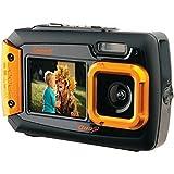 COLEMAN 2V9WP-O 20.0メガピクセル Duo2 デュアルスクリーン 防水デジタルカメラ (オレンジ)