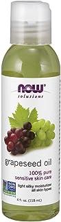 Now Foods Grape Seed Oil Moisturiser, 118 ml