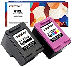 CSSTAR Remanufactured Ink Cartridges Replacement for HP 61 XL 61XL, (Black & Color, 2-Pack)